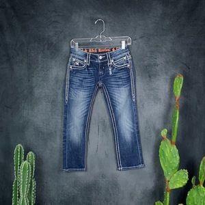 🆕Rock Revival Noelle Capri Jeans Pants NWOT